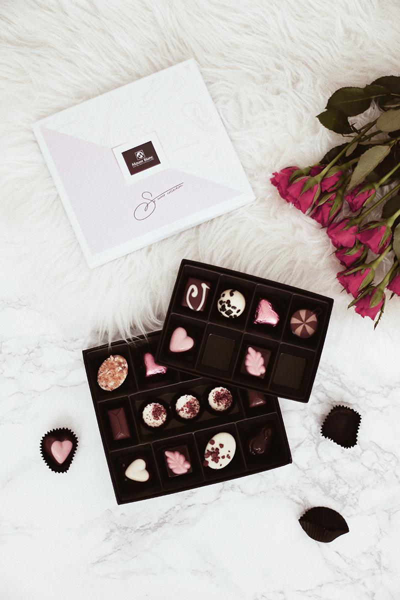 prezenty walentynkowe mountblanc czekoladki