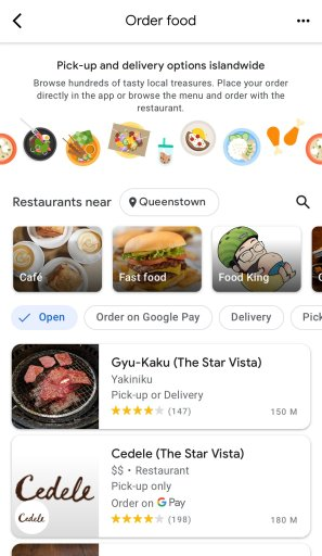 Google Pay Food1