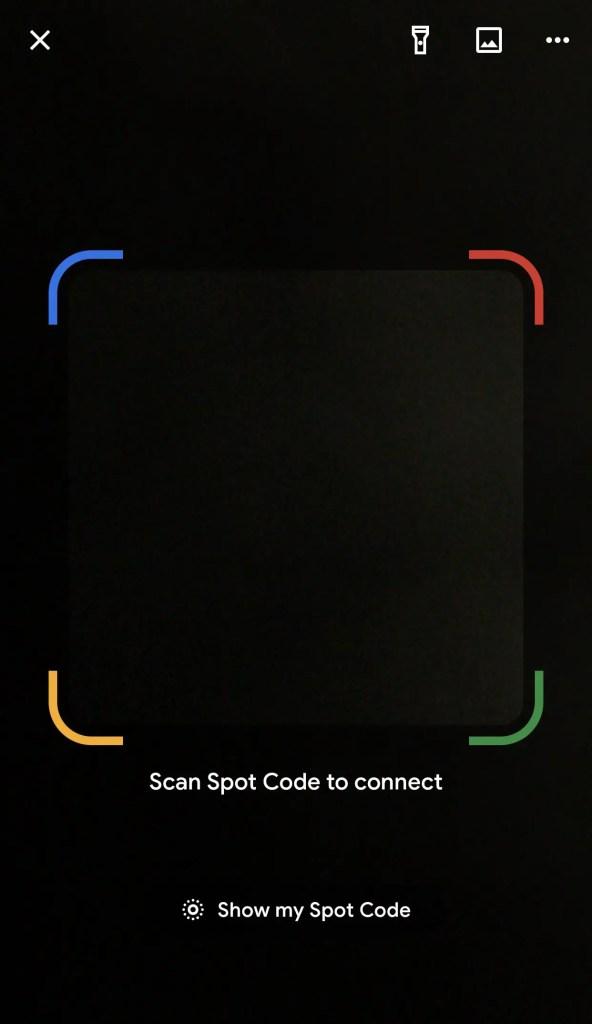 Google Pay Spot Code