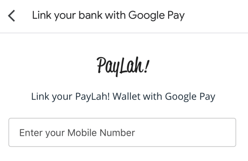 Google Pay PayLah1