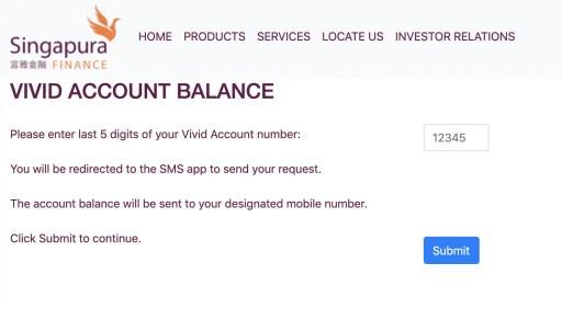 Vivid Account Check Balance