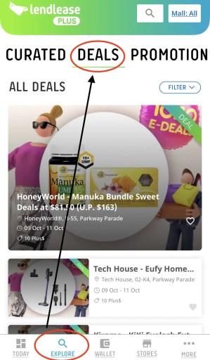 Lendlease Plus Deals