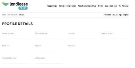 Lendlease Plus Portal 2.1