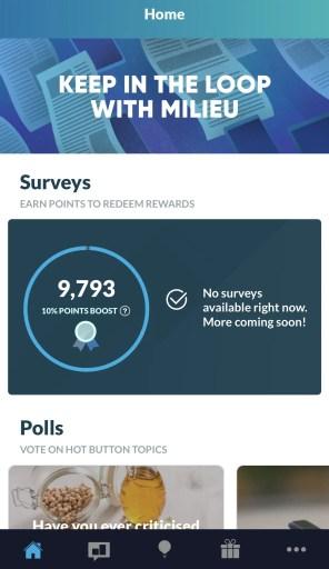 Milieu Survey Quota Full