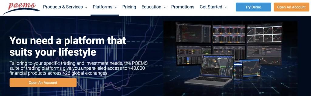 POEMS 2.0 Platform 1