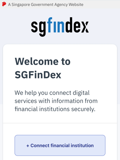 SGFinDex Overview