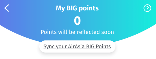 BigPay Sync AirAsia BIG Points