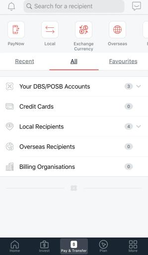 POSB DBS digibank Select Accounts 2