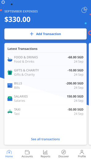 Seedly App View Latest Transactions 2