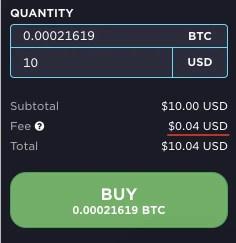 Gemini Active Trader 0.4 Fee