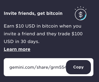 Gemini Referral