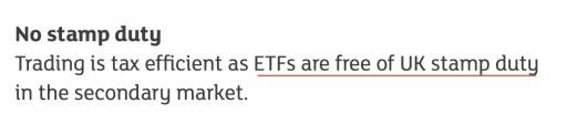 LSE ETF Stamp Duty