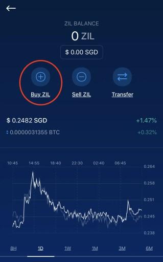 Crypto.com Buy ZIL