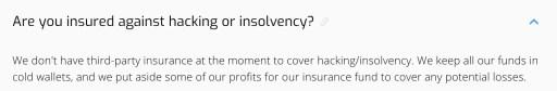 Hodlnaut Insurance