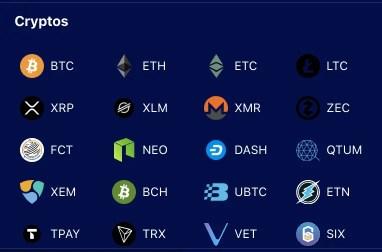 Liquid Deposit Crypto Types