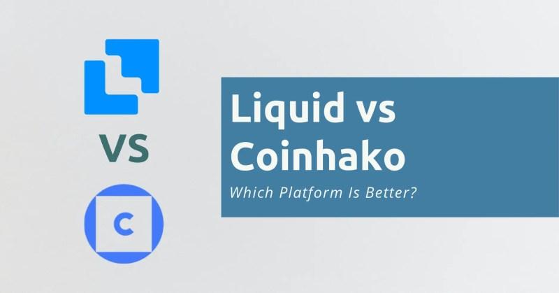Liquid vs Coinhako