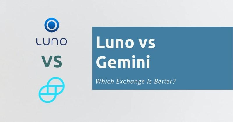 Luno vs Gemini
