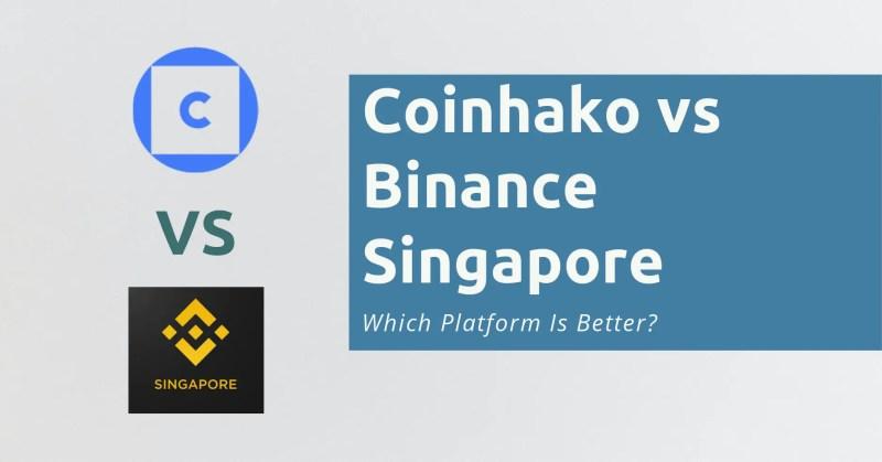 Coinhako vs Binance Singapore
