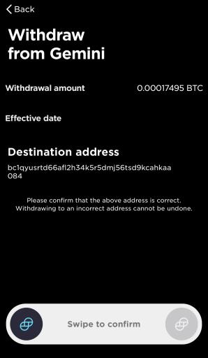 Gemini Deposit Bitcoin To Celsius Review Withdrawal