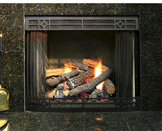 the fireplace man