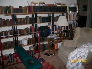 book cases non clutter
