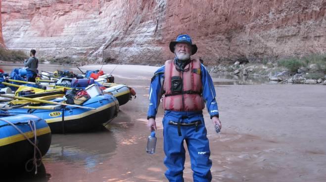 Grand Canyon Cave Man