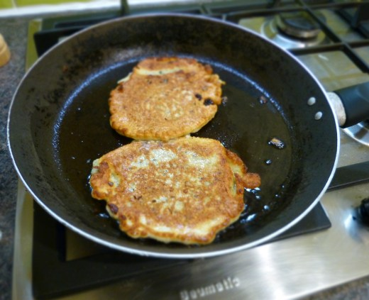 Oat, Seed and Raisin Pancakes