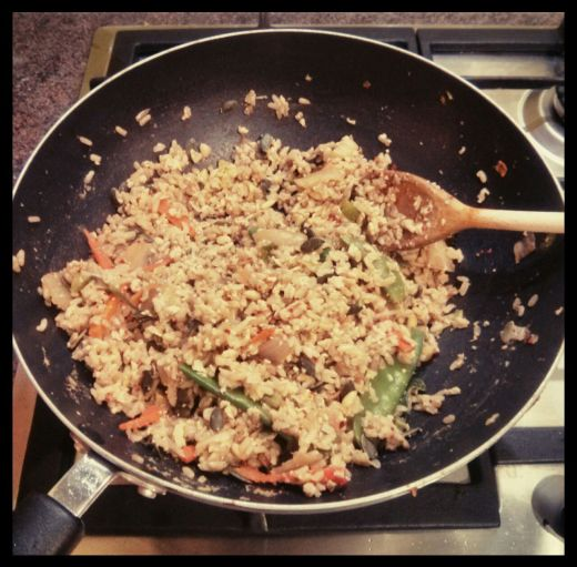 Egg Fried Rice Leftovers Recipe
