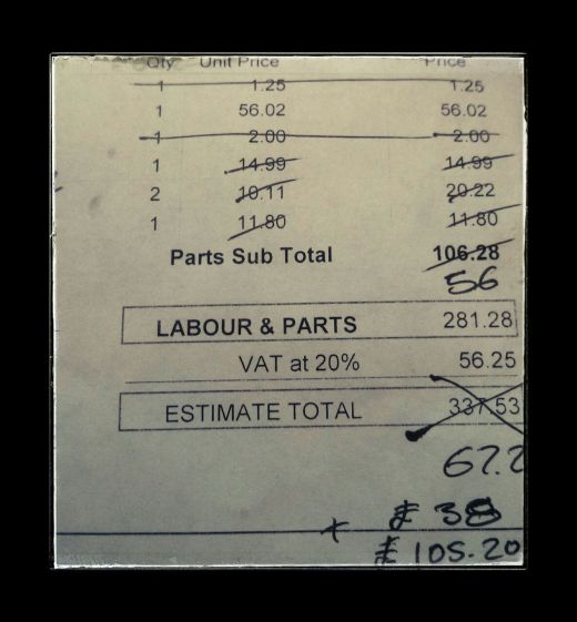 car maintenance cost