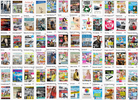 free magazine downloads