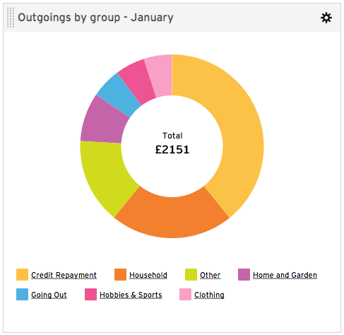 january expenses
