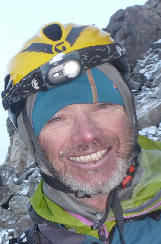 Malcolm Bass in East Karakoram 2012. Photo: Simon Yearsley