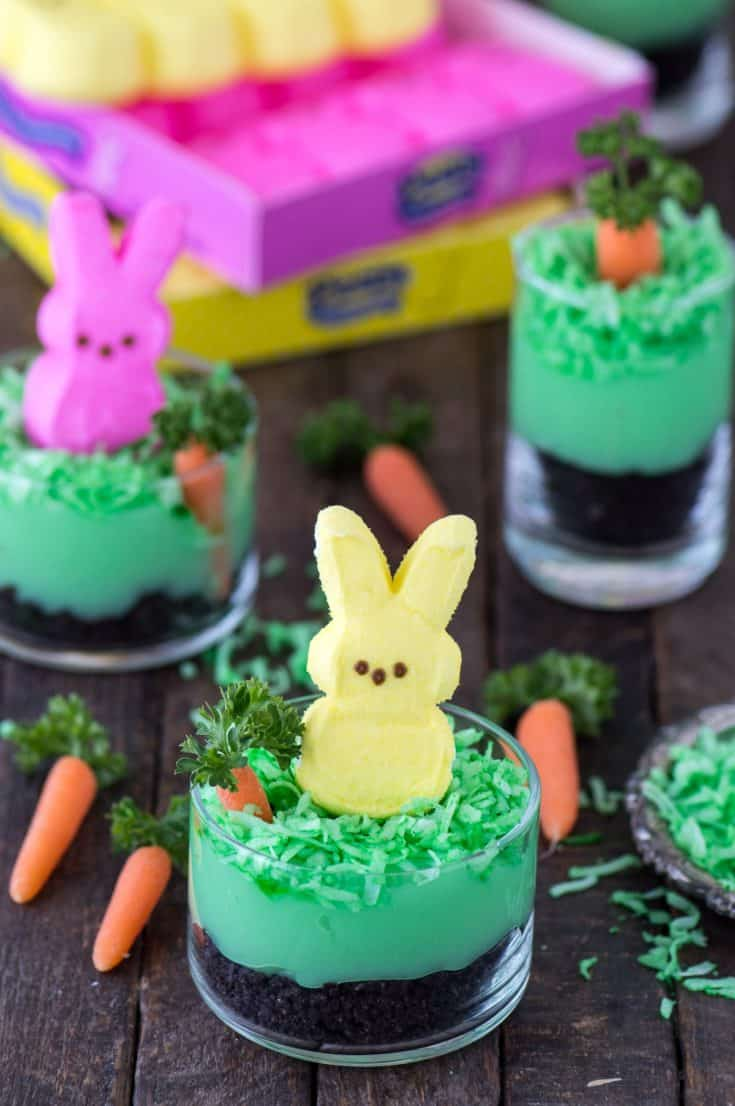 Peeps Bunny Pudding Cups The First Year