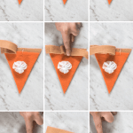 Pumpkin Pie Felt Garland Banner