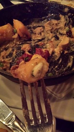 Close up, Asiago Stuffed Gnocchi