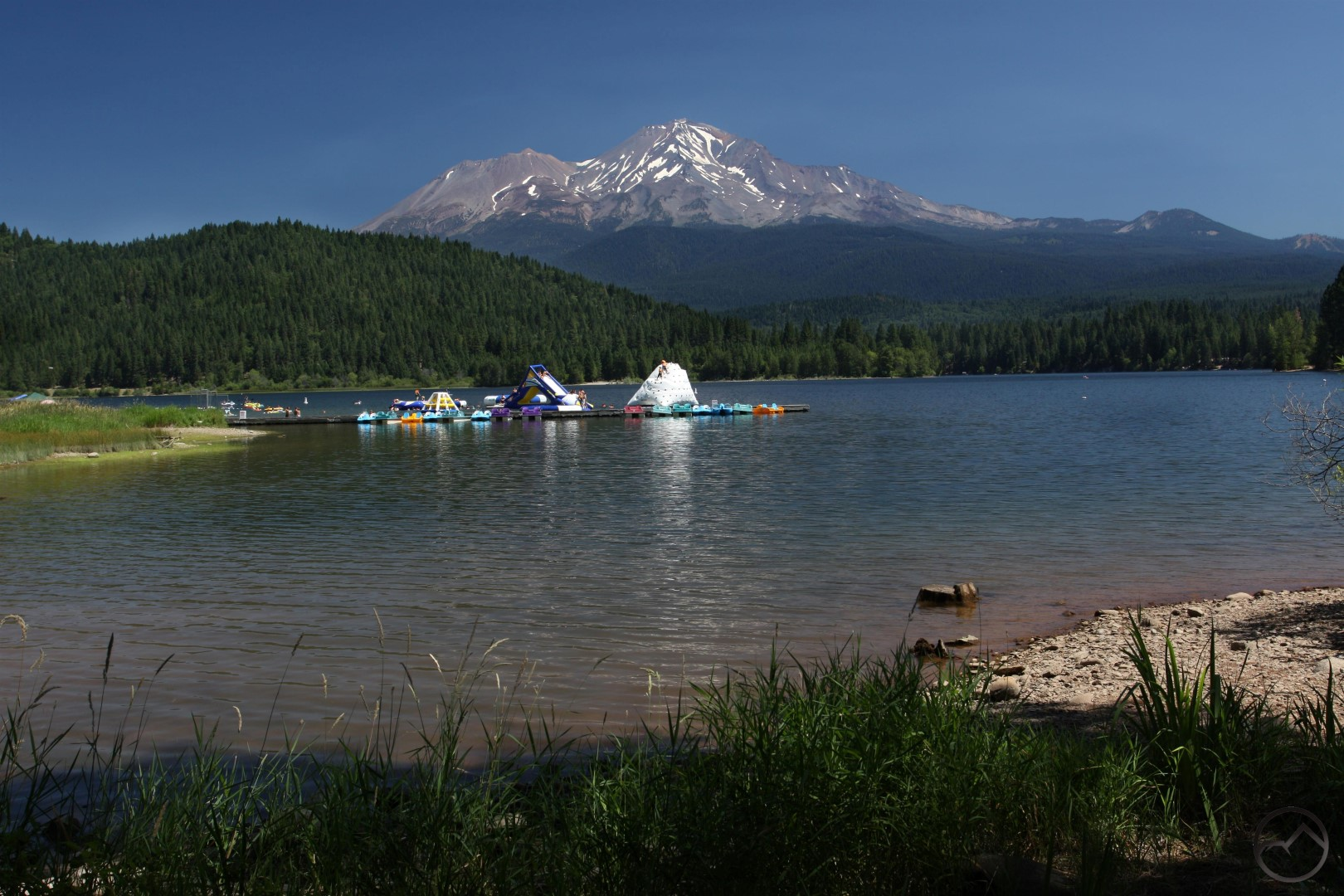 Lake siskiyou and shastina the fishing advice for Lake siskiyou resort cabins