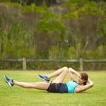 5 minute abdominal workout for the 'I can't be stuffed' moments