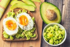 egg and avo on toast