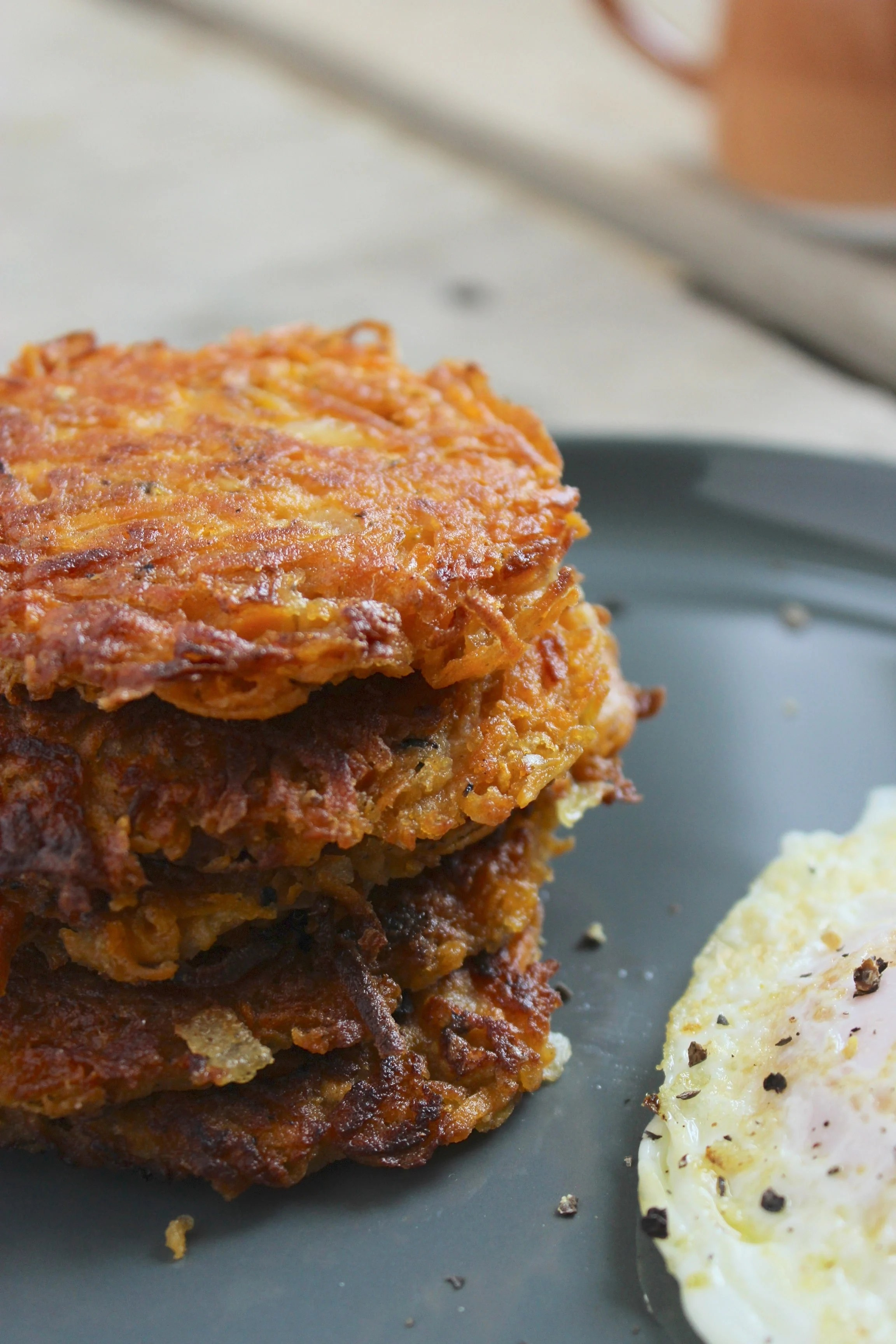 Sweet Potato Hash Browns From The Fitchen
