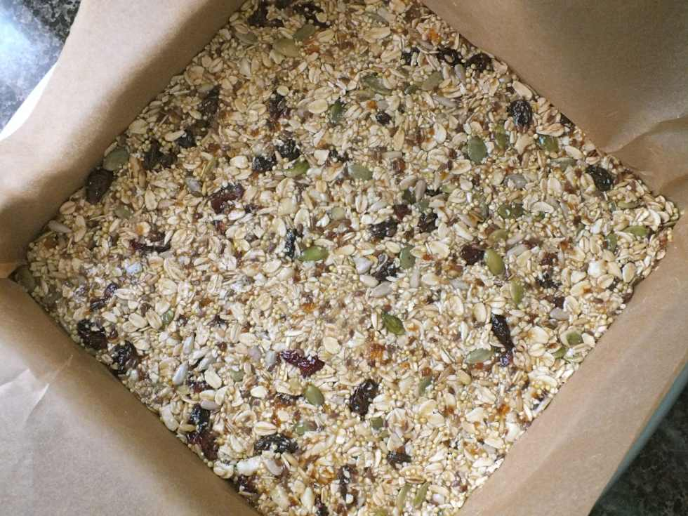 The Best Granola Bars Ever - The Fitchen