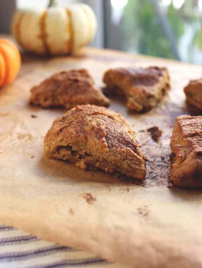 Spiced Pumpkin Chai Scones