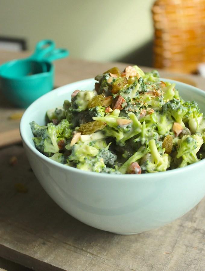 Easy Vegan Broccoli Salad
