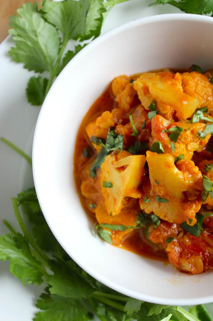 Easy Vegan Cauliflower Curry – The Fitchen