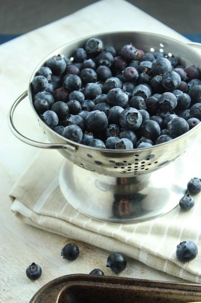 Blueberry Peach Crisps
