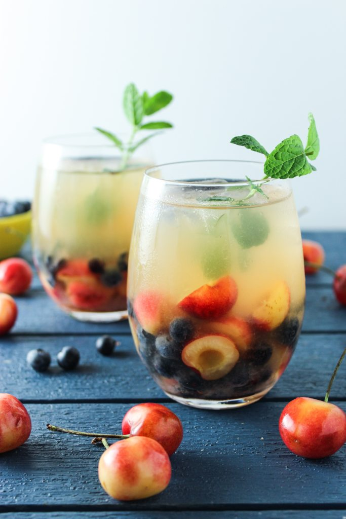 Cherry White Wine Sangria