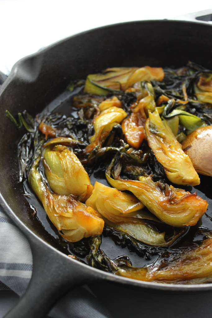 Sweet and Spicy Bok Choy