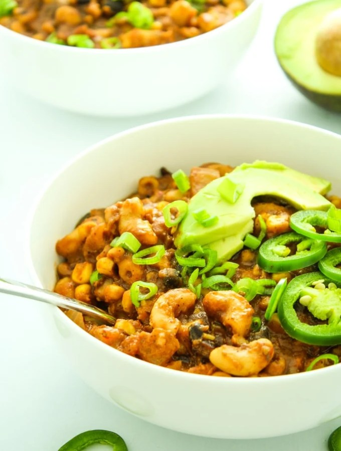 Crockpot Three Bean Vegan Chili