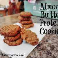 Almond Butter Protein Cookies