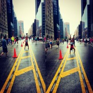 Strike a pose, walk it out. #TheFitCycle (in the) #Park (Avenue) Andia Winslow of NYC