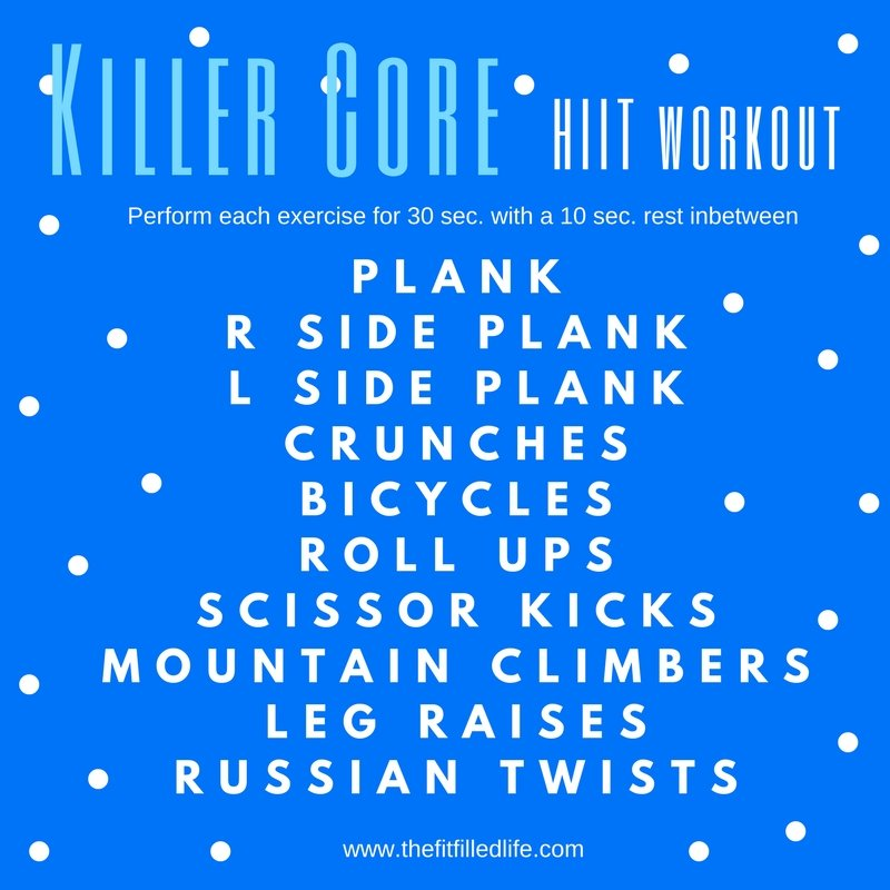Killer Core HIIT Workout